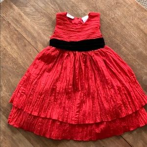 Toddler 4T red holiday dress